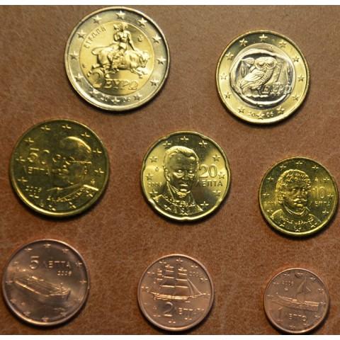 Sada 8 euromincí Grécko 2006 (UNC)