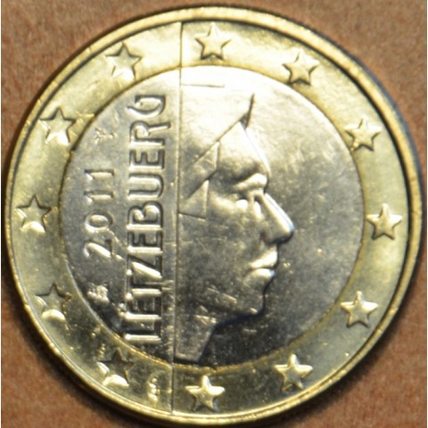 1 Euro Luxembursko 2011 (UNC)