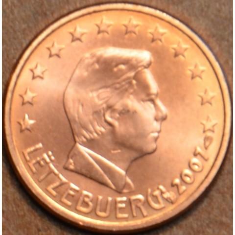 1 cent Luxembursko 2007 (UNC)