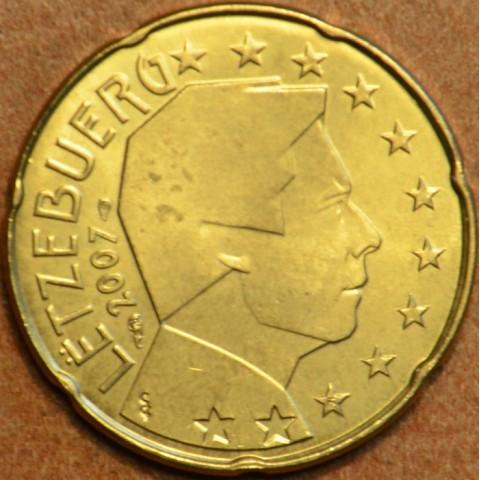 20 cent Luxembursko 2007 (UNC)