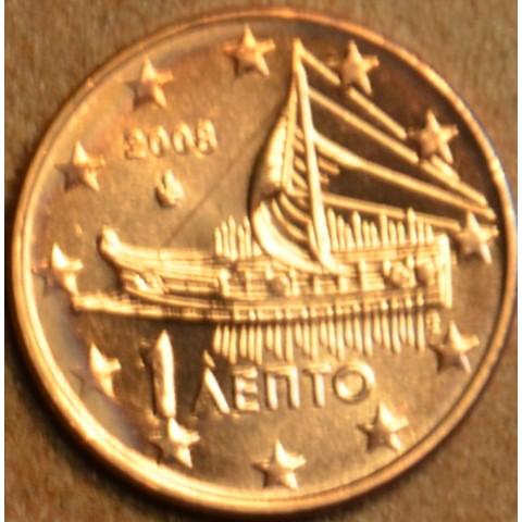 1 cent Grécko 2008 (UNC)