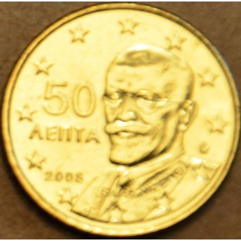 50 cent Grécko 2008 (UNC)