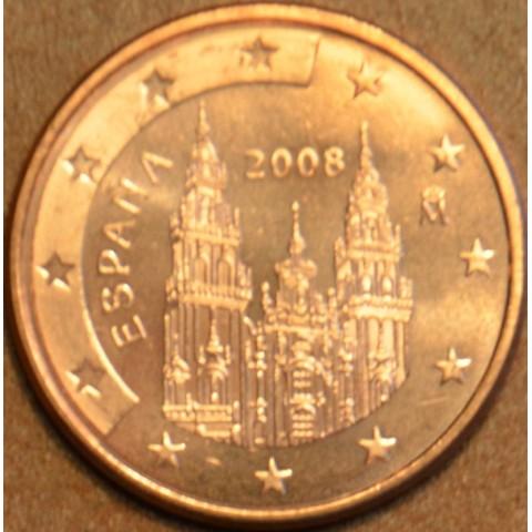 1 cent Španielsko 2008 (UNC)