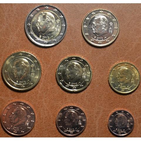 Sada 8 belgických mincí 2012 (UNC)