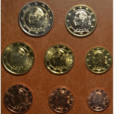Sada 8 belgických mincí 2013 (UNC)