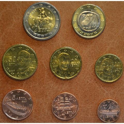 Sada 8 euromincí Grécko 2007 (UNC)