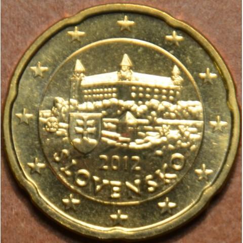 20 cent Slovensko 2012 (UNC)