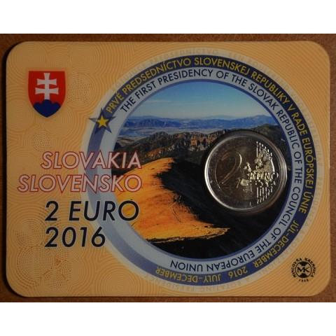 2 Euro Slovensko 2016 - Predsedníctvo EU (BU karta)