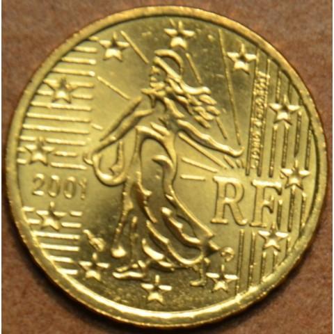10 cent Francúzsko 2001 (UNC)