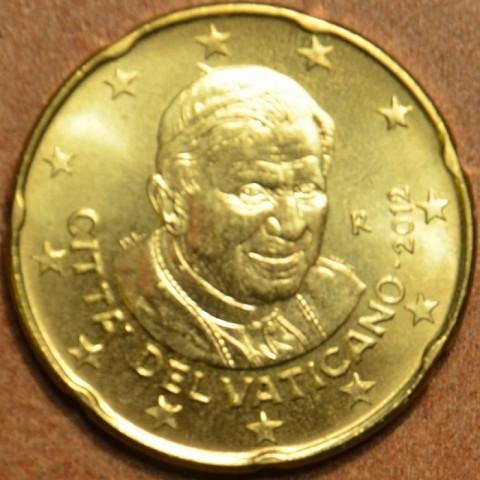 20 cent Vatikán 2012 (BU)