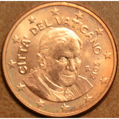 1 cent Vatikán 2012 (BU)