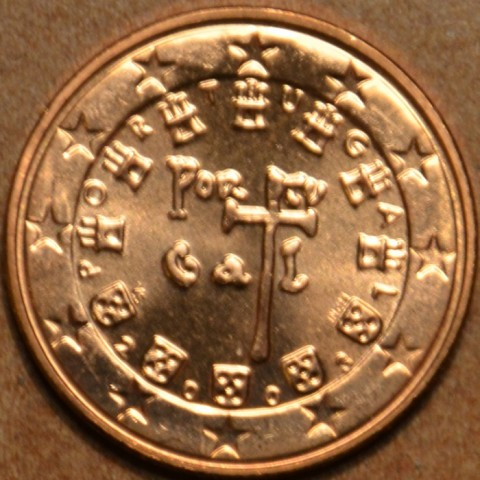 1 cent Portugalsko 2003 (UNC)