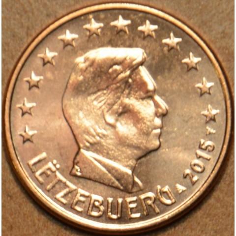1 cent Luxembursko 2015 (UNC)