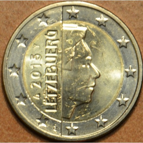 2 Euro Luxembursko 2015 (UNC)