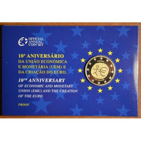 2 Euro Portugalsko 2009 - 10. výročie hospodárskej a menovej únie  (Proof)