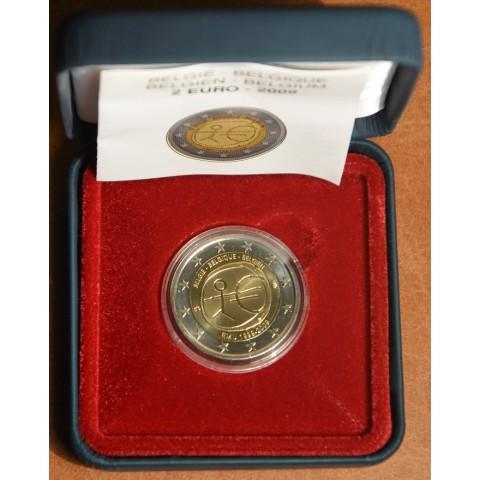 2 Euro Belgicko 2009 - 10. výročie hospodárskej a menovej únie  (Proof)