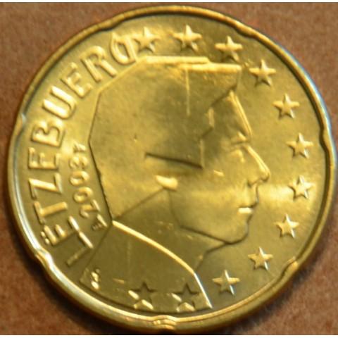 20 cent Luxembursko 2003 (UNC)