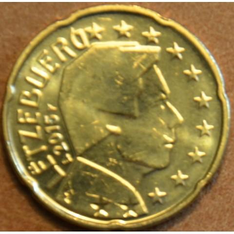 20 cent Luxembursko 2015 (UNC)