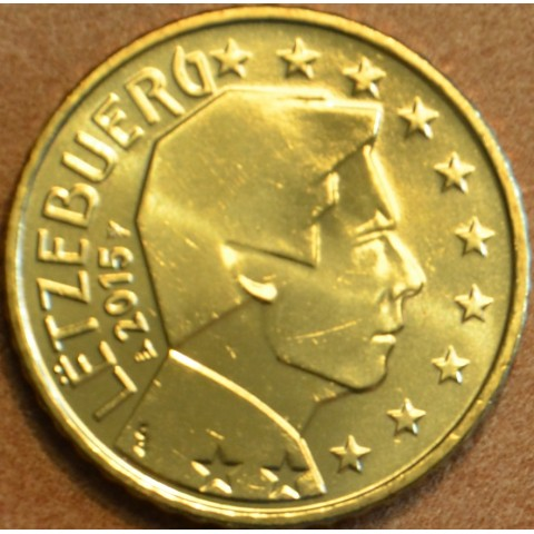 50 cent Luxembursko 2015 (UNC)