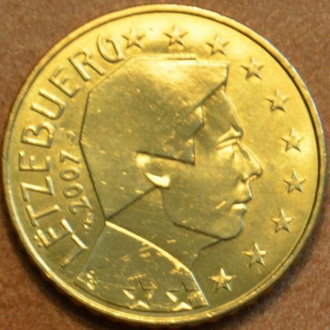 50 cent Luxembursko 2007 (UNC)