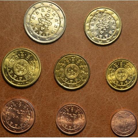 Sada 8 portugalských mincí 2004 (UNC)
