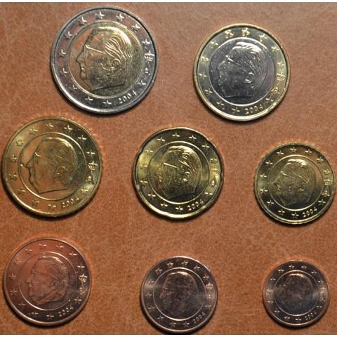 Sada 8 belgických mincí 2004 (UNC)