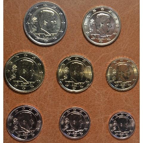 Sada 8 belgických mincí 2016 (UNC)