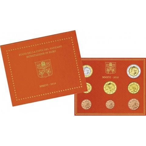 Sada 8 euromincí Vatikan 2016  (BU)
