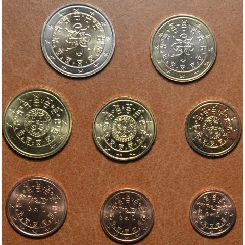 Sada 8 portugalských mincí 2013 (UNC)