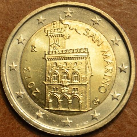 2 Euro San Marino 2013 - Dom vlády (UNC)