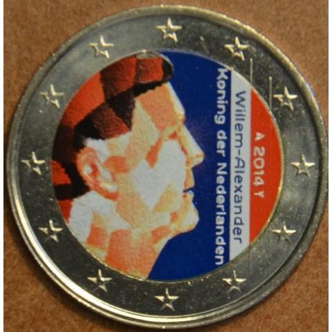 2 Euro Holandsko 2014 (farebná UNC)