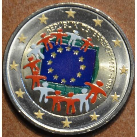 2 Euro Rakúsko 2015 - 30 rokov Europskej vlajky  (farebná UNC)