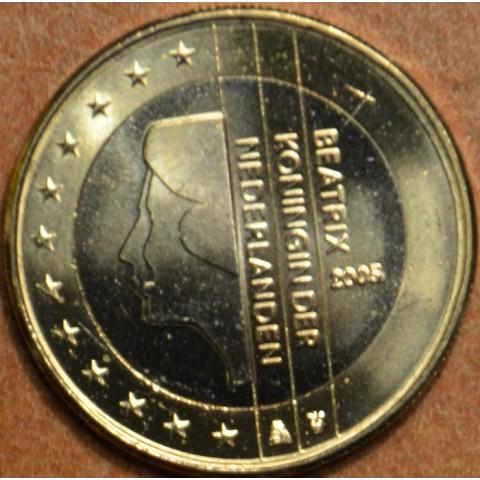1 Euro Holandsko 2005 - Kráľovná Beatrix (UNC)