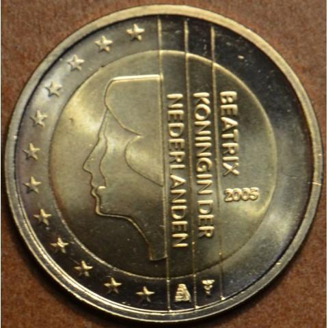 2 Euro Holandsko 2005 - Kráľovná Beatrix (UNC)