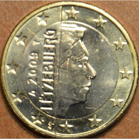 1 Euro Luxembursko 2009 (UNC)
