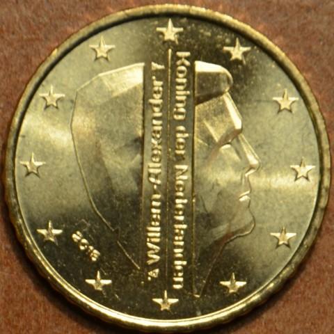 10 cent Holandsko 2016 - Kráľ Willem Alexander (UNC)