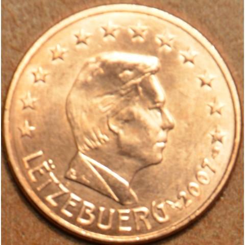 5 cent Luxembursko 2007 (UNC)