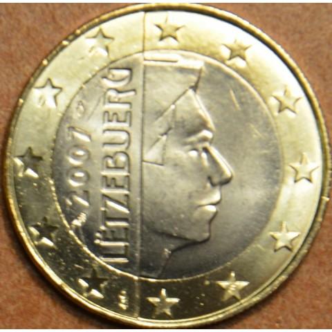 1 Euro Luxembursko 2007 (UNC)