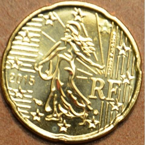 20 cent Francúzsko 2015 (UNC)
