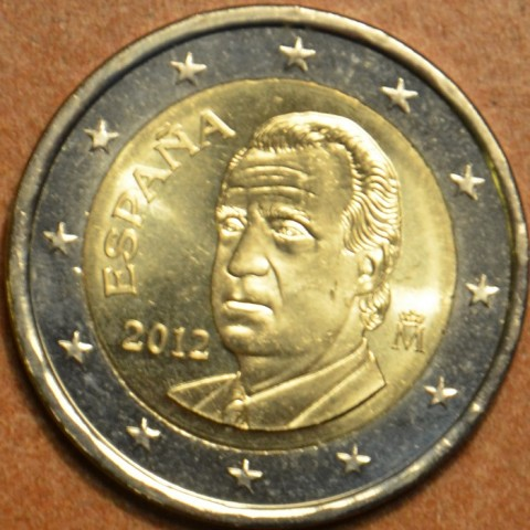 2 Euro Španielsko 2012 (UNC)