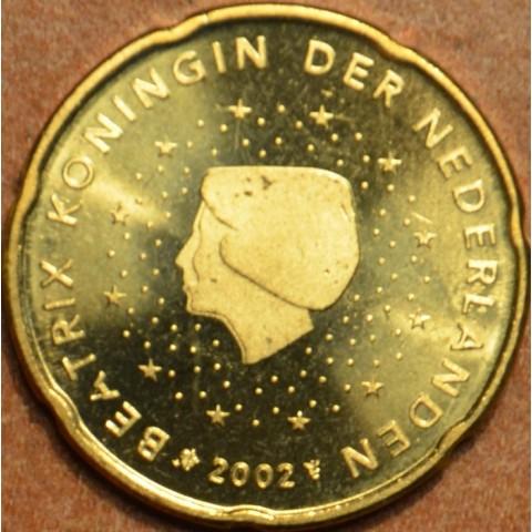 20 cent Holandsko 2002 (UNC)