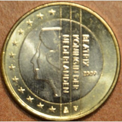 1 Euro Holandsko 2009 - Kráľovná Beatrix (UNC)