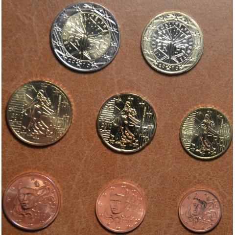 Sada 8 euromincí Francúzsko 2009 (UNC)