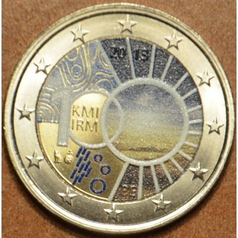 2 Euro Belgicko 2013 - 100. výročie královskej meteorologickej inštitúcie III.  (farebné UNC)