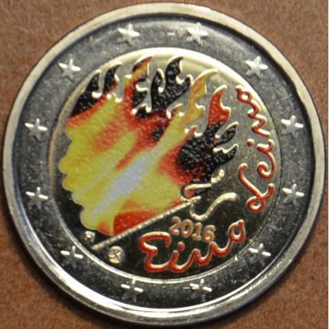 2 Euro Fínsko 2016 - Eino Leino II. (farebná UNC)