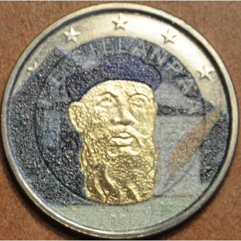 2 Euro Fínsko 2013 - 125. výročie narodenia Frans Eemil Sillanpaa III. (farebná UNC)