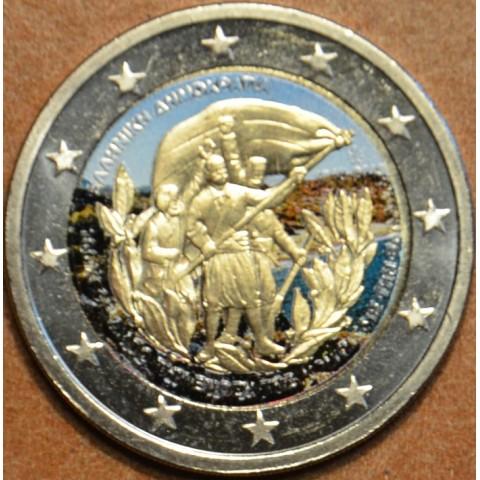 2 Euro Grécko 2013 - 100 rokov únie s Krétou III. (farebná UNC)