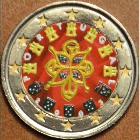 2 Euro Portugalsko 2003 (farebná UNC)