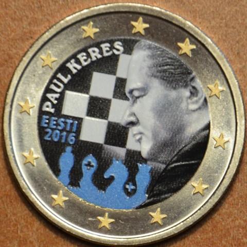 2 Euro Estónsko 2016 - Paul Keres IV. (farebná UNC)