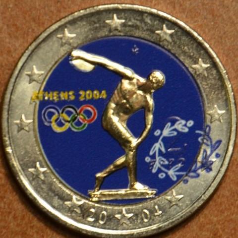 2 Euro Grécko 2004 - Olympijské hry v Aténach v roku 2004 II. (farebná UNC)